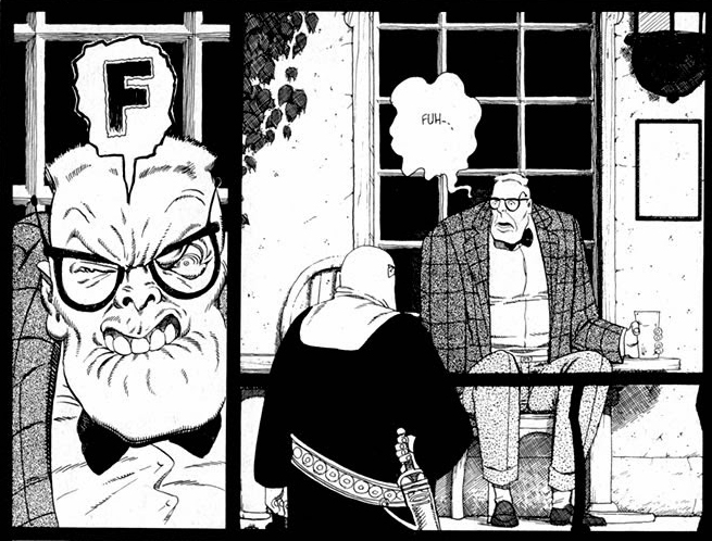 Cerebus Melmoth review