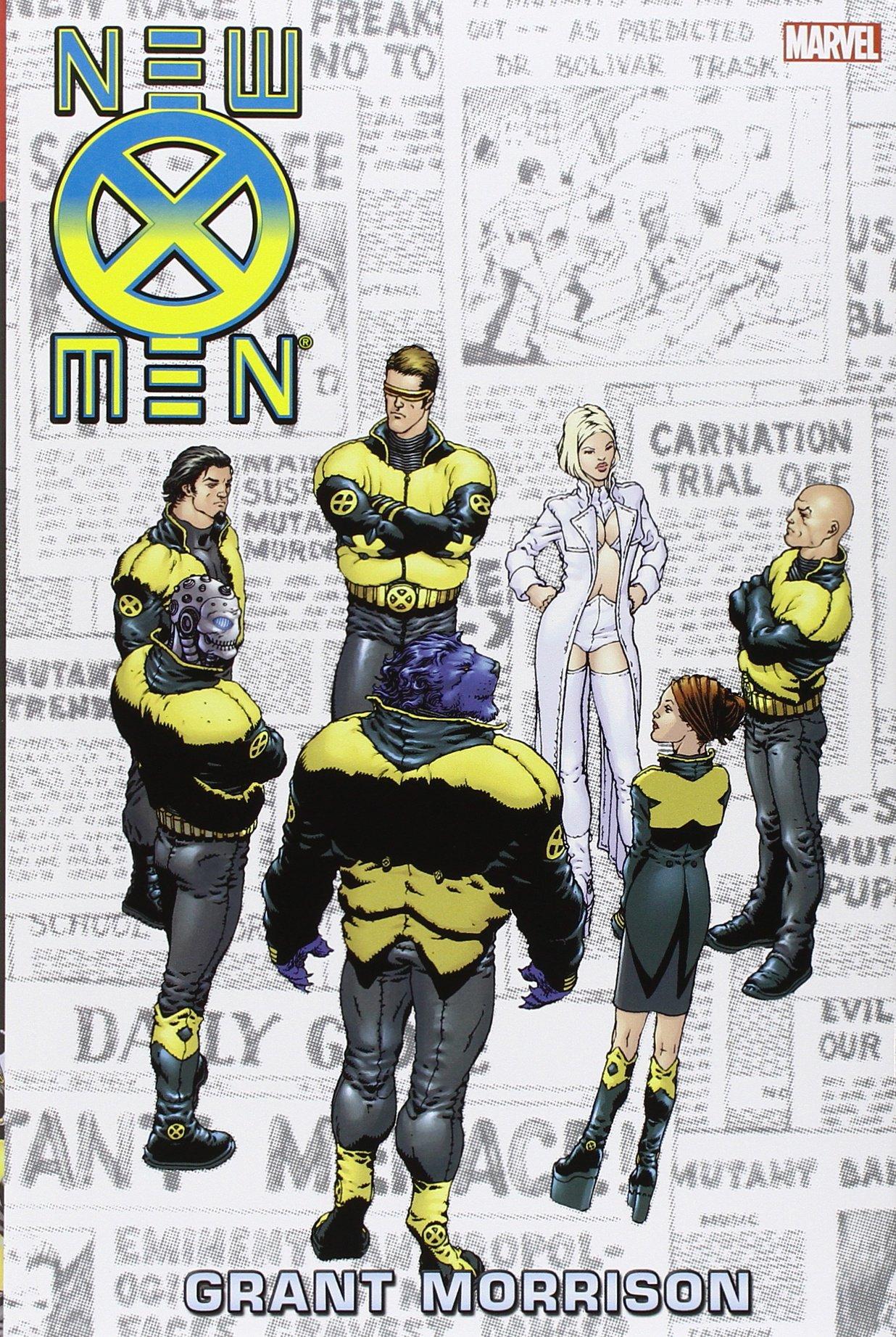 New X-Men Omnibus review. SAMPLE IMAGE