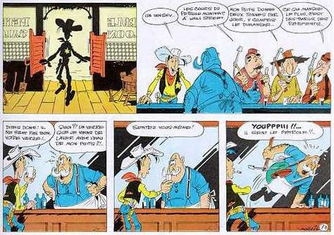 Lucky Luke in the Shadow of the Derricks review