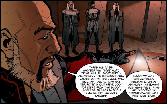Star Trek Klingons Blood Will Tell review