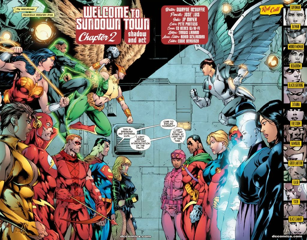 Justice League When Worlds Collide review