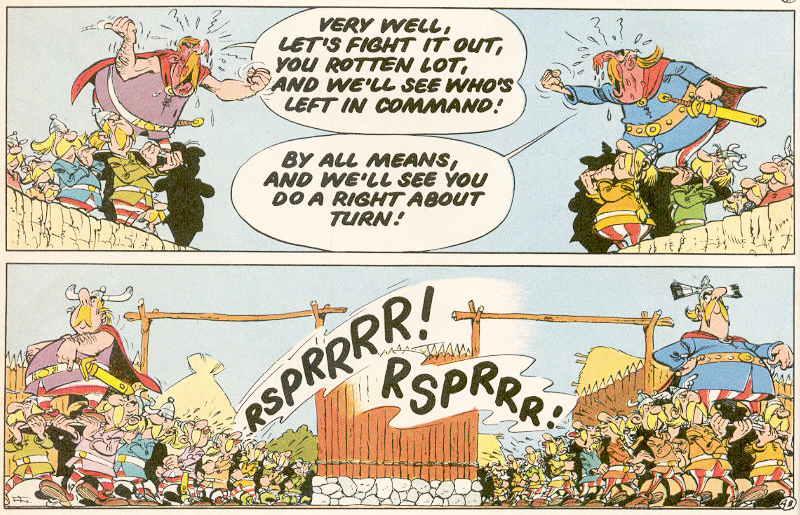 Asterix and the Great Divide review