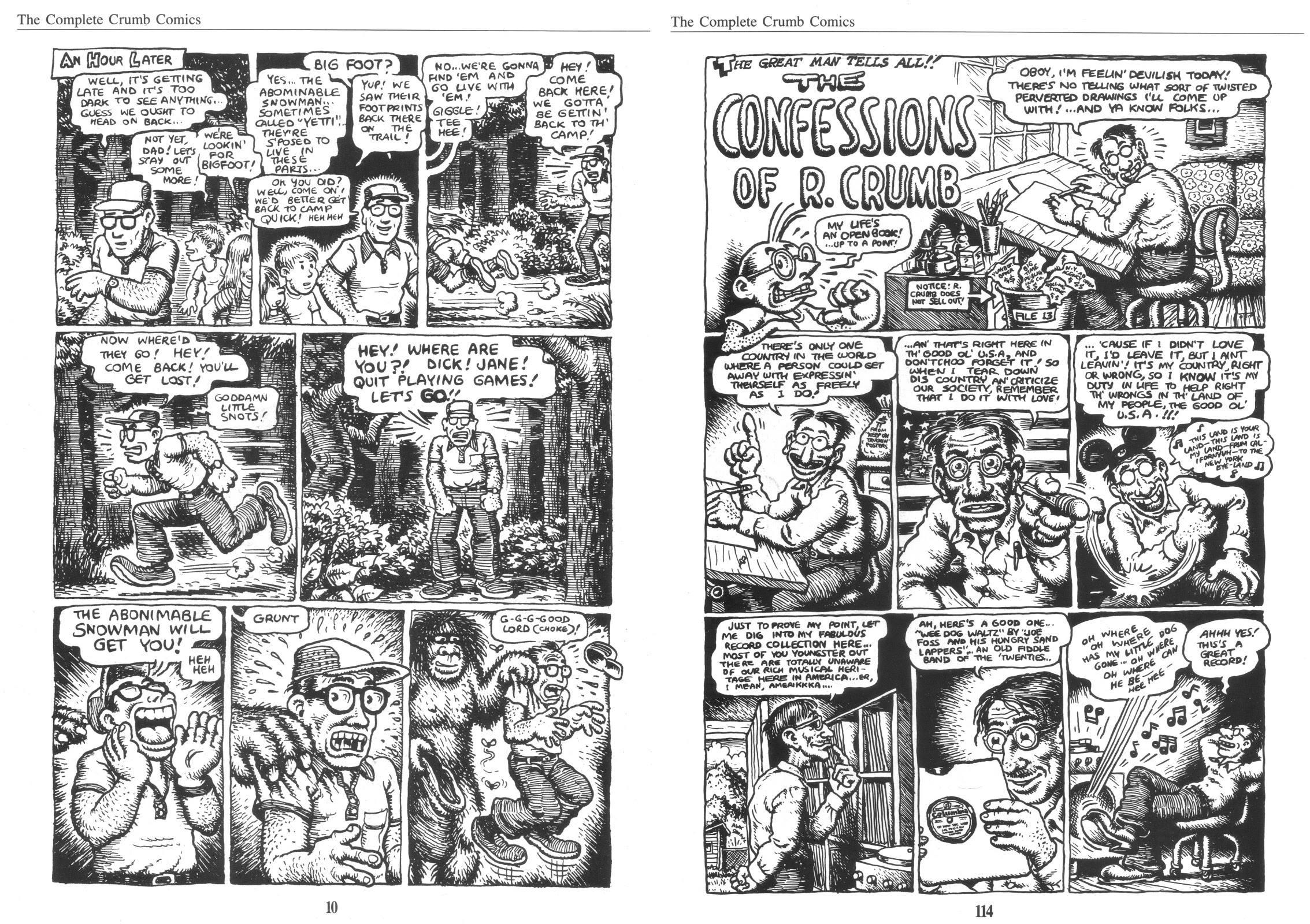 Complete Crumb Comics Vol 8 review