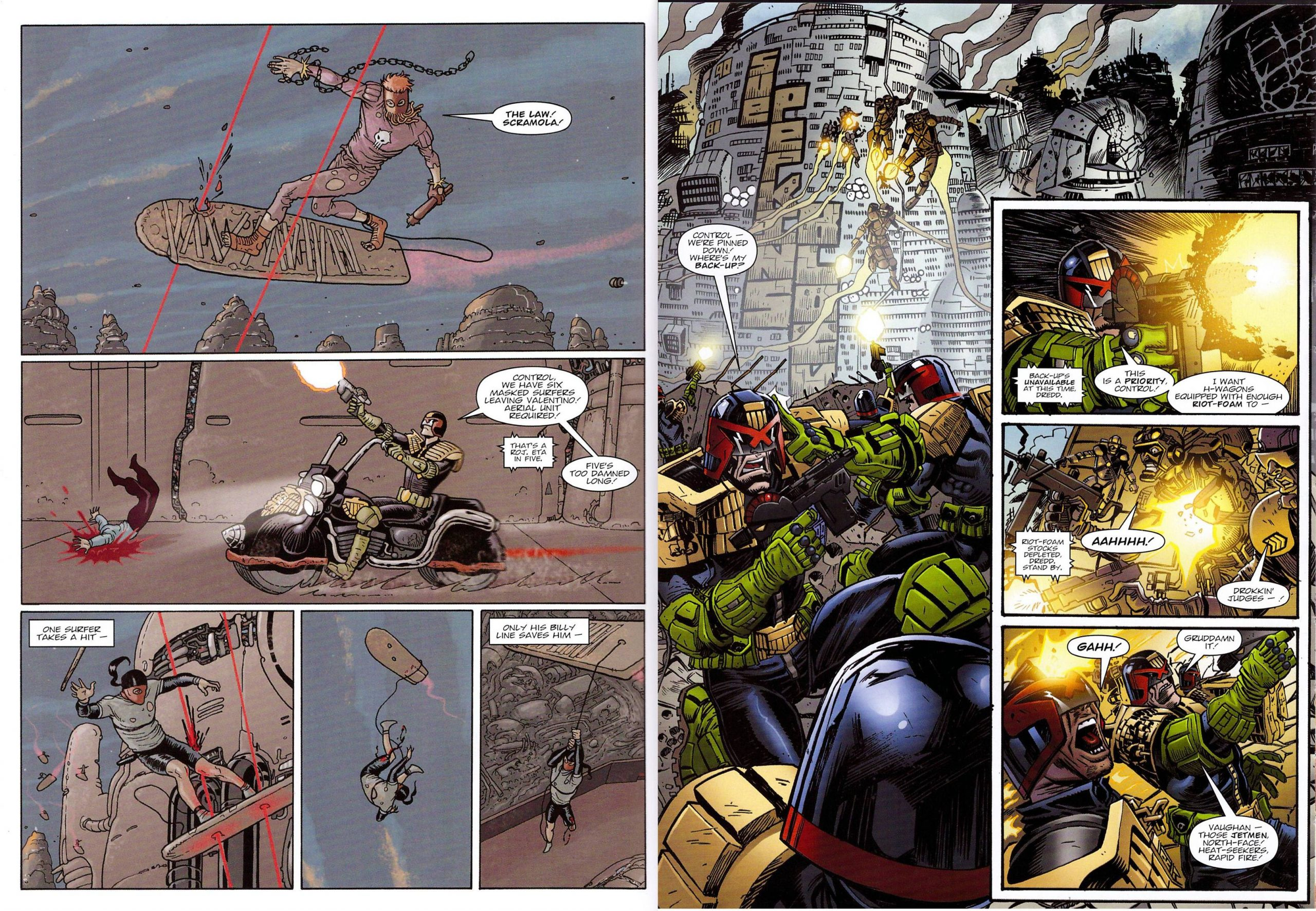Judge Dredd Day of Chaos Fallout review