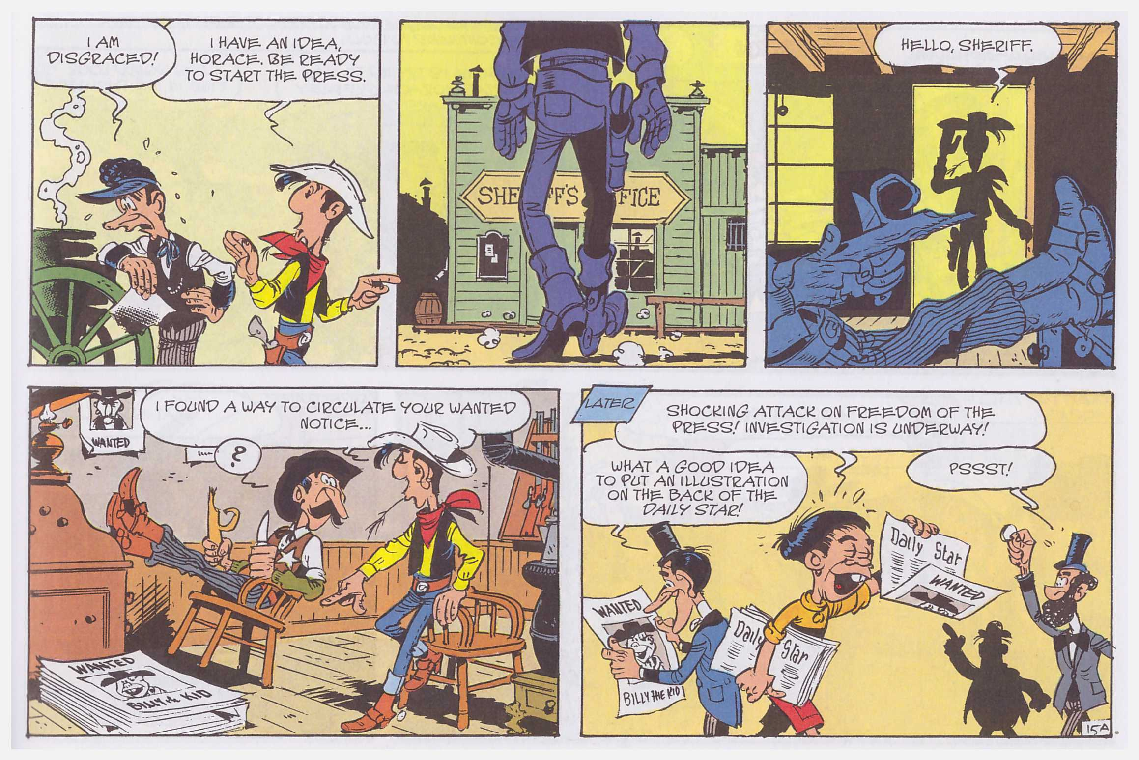 Lucky Luke The Daily Star review