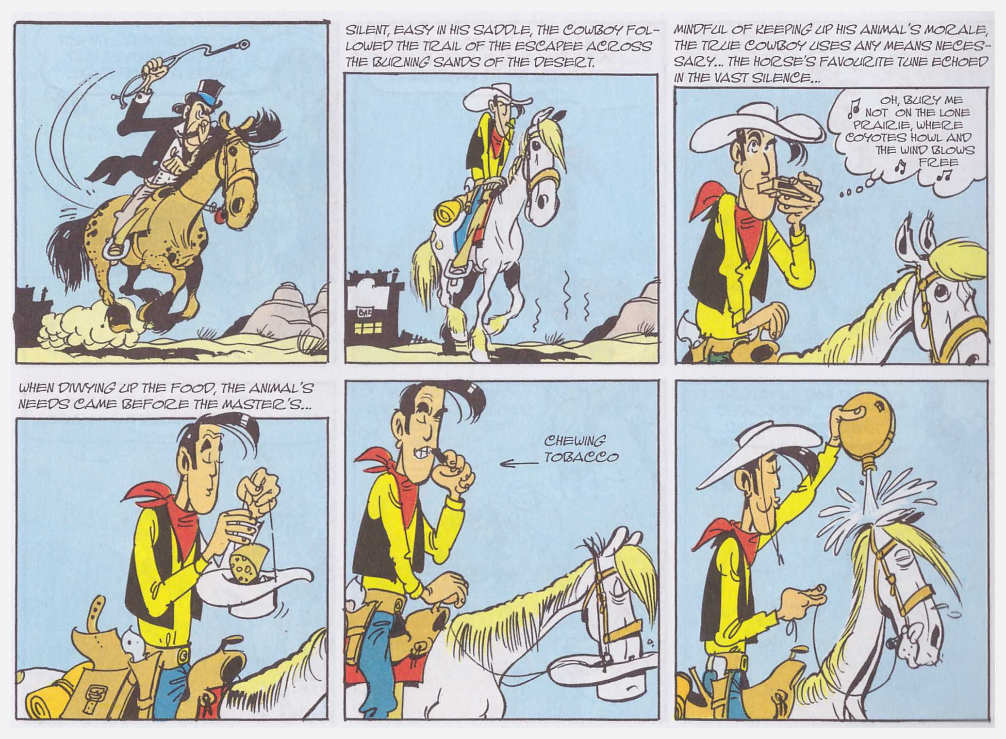 Lucky Luke Doc Doxey's Elixir review