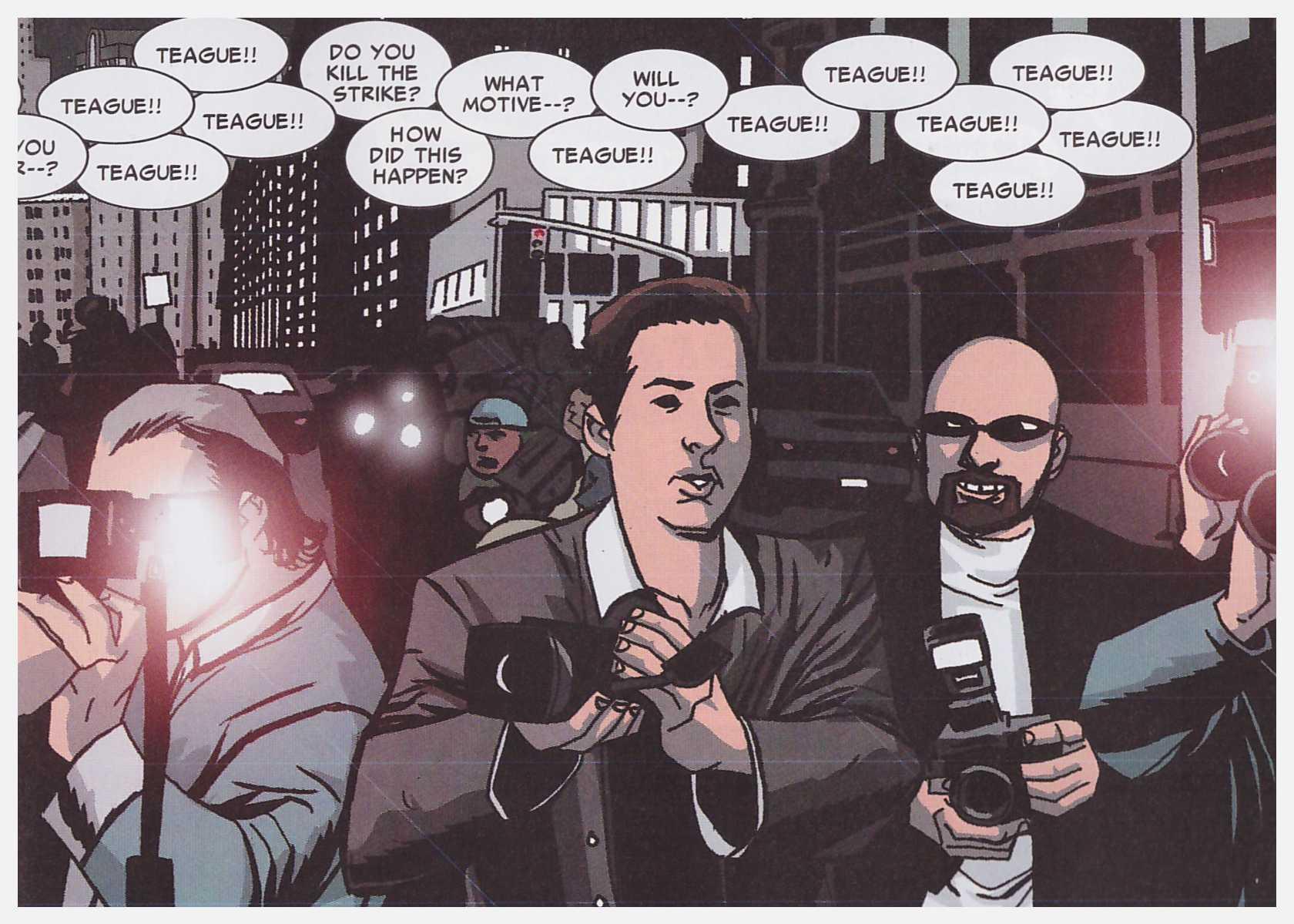 Powers Secret Identity review