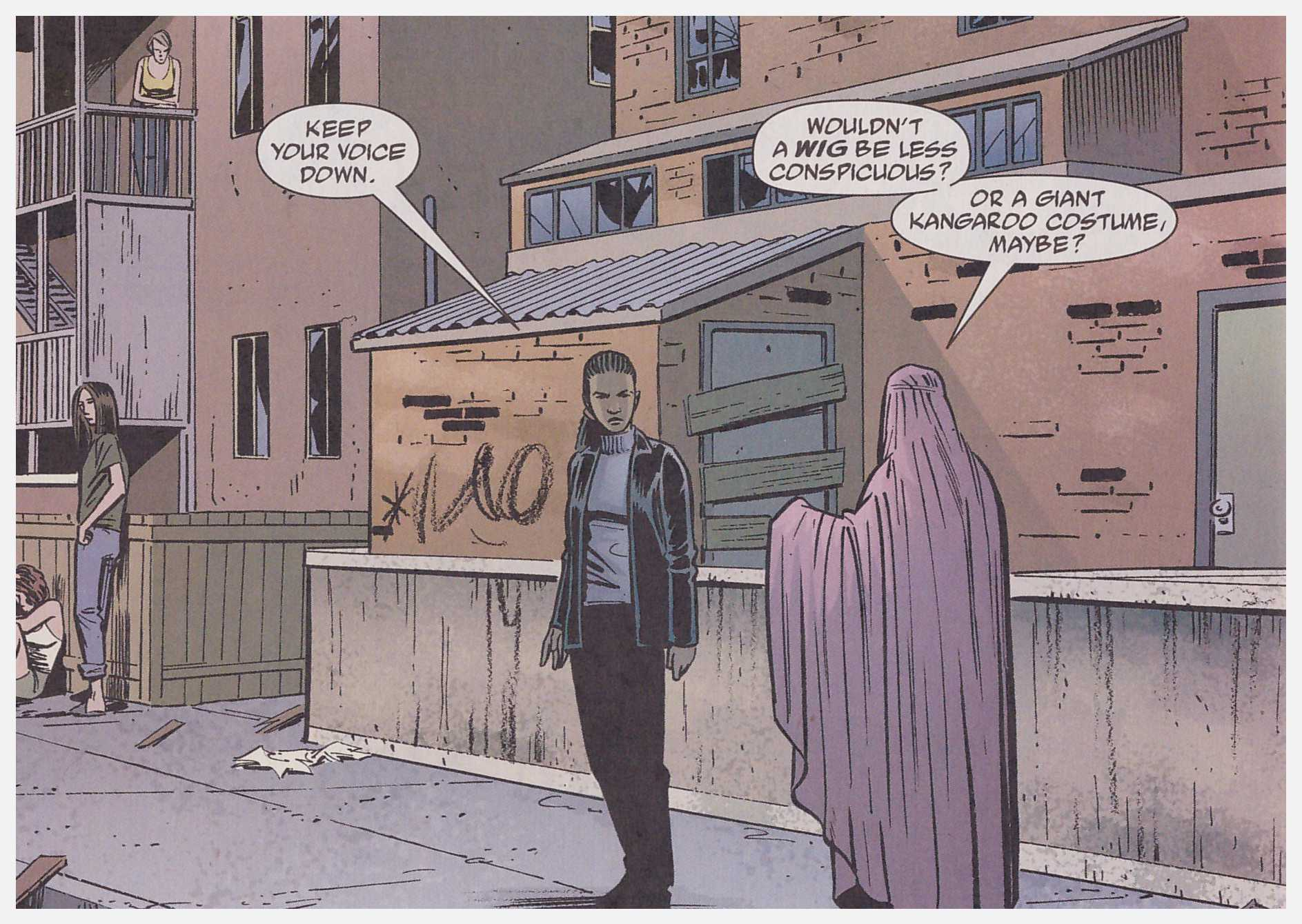 Y The Last Man Paper Dolls review