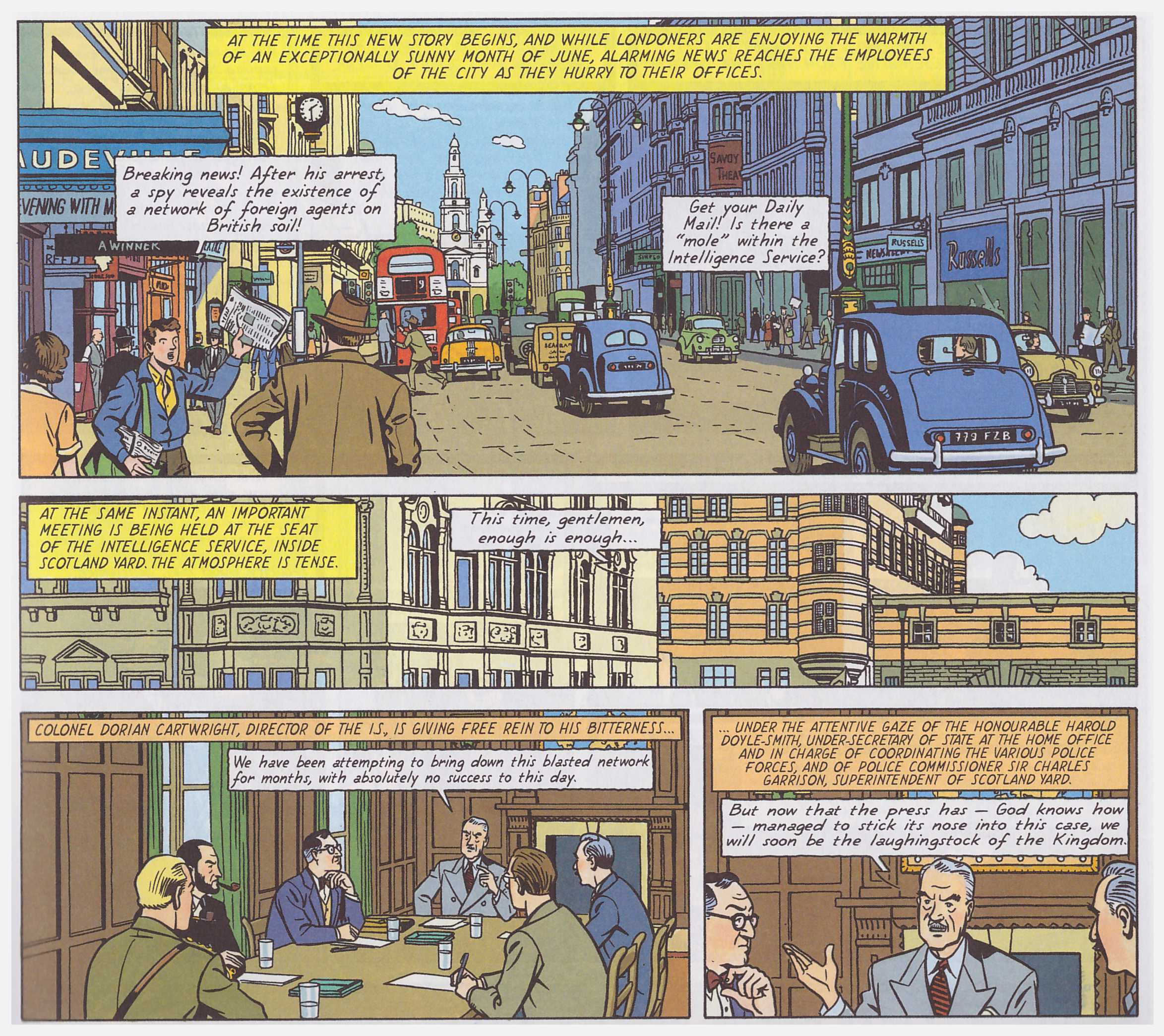 Blake and Mortimer The Francis Blake Affair review