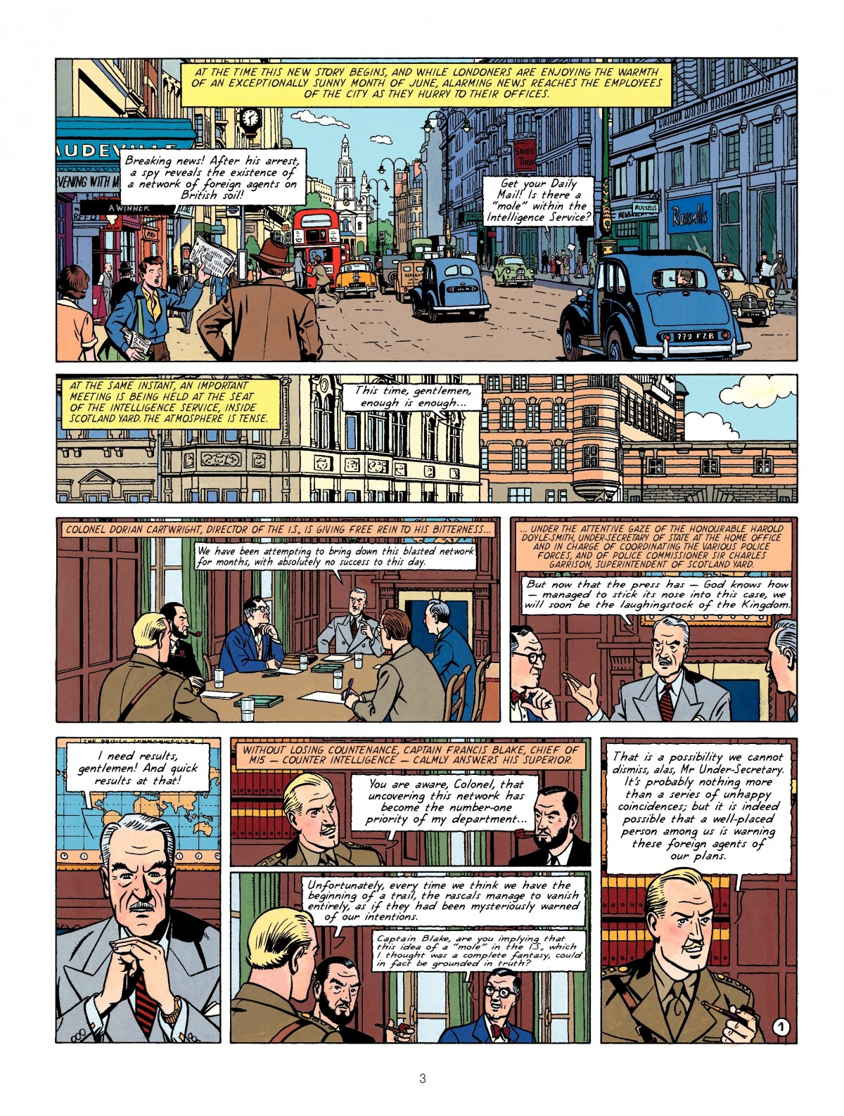 Blake and Mortimer The Francis Blake Affair review