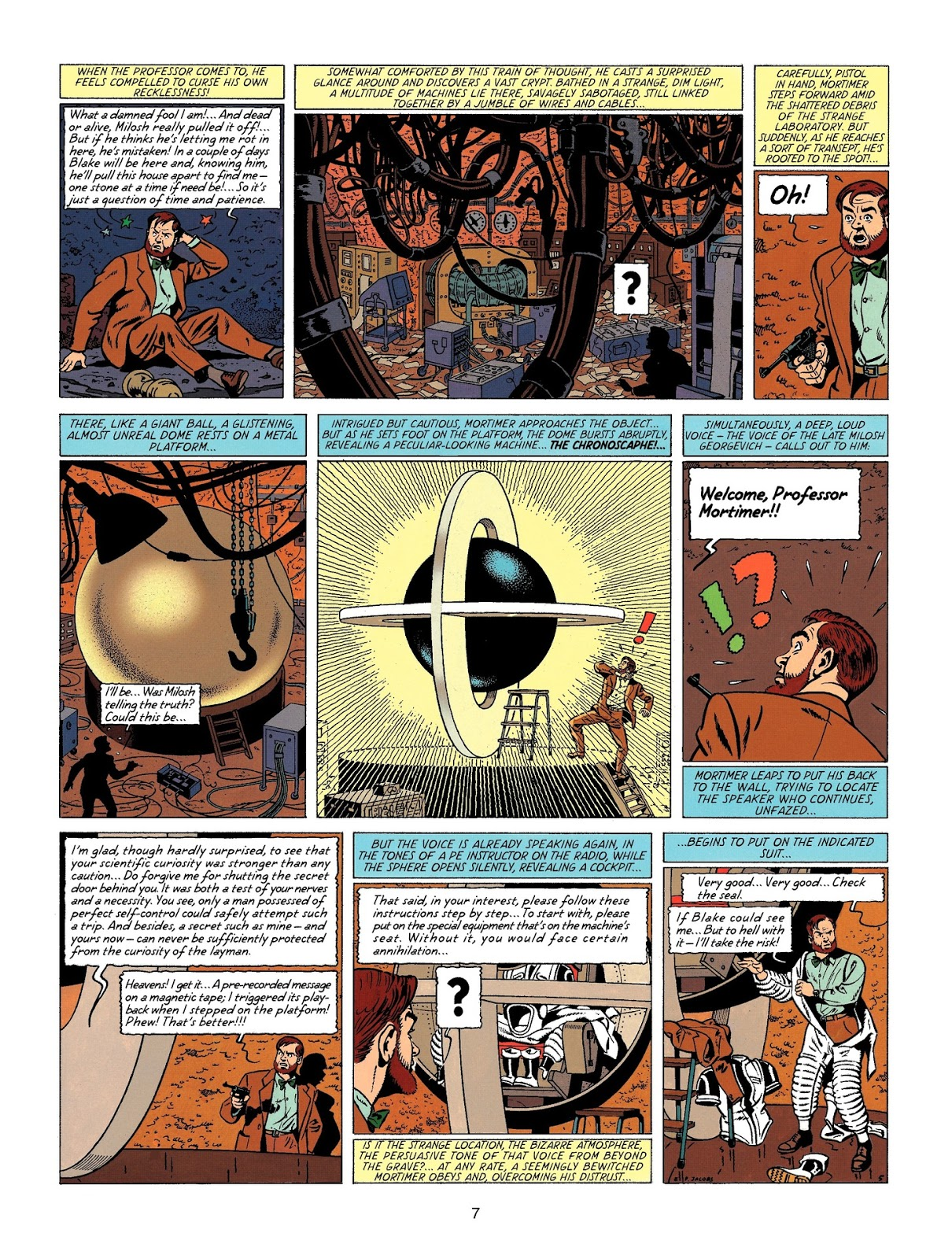 Blake and Mortimer The Time Trap review