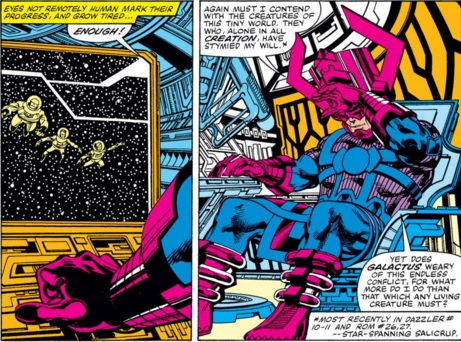 Fantastic Four The Trial of Galactus review