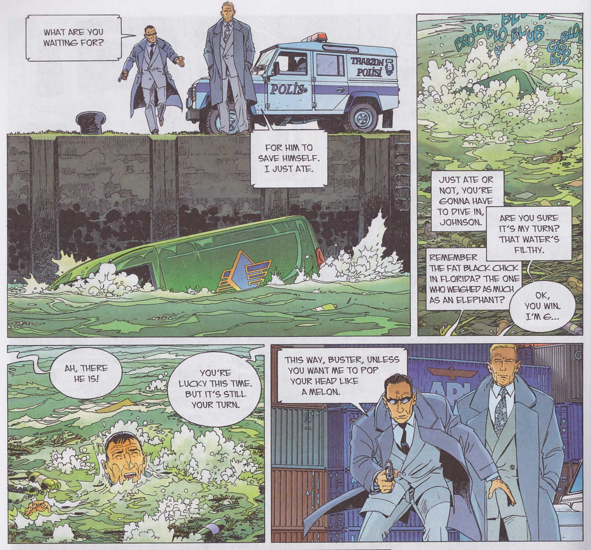 Largo Winch Red Hot Wrath review