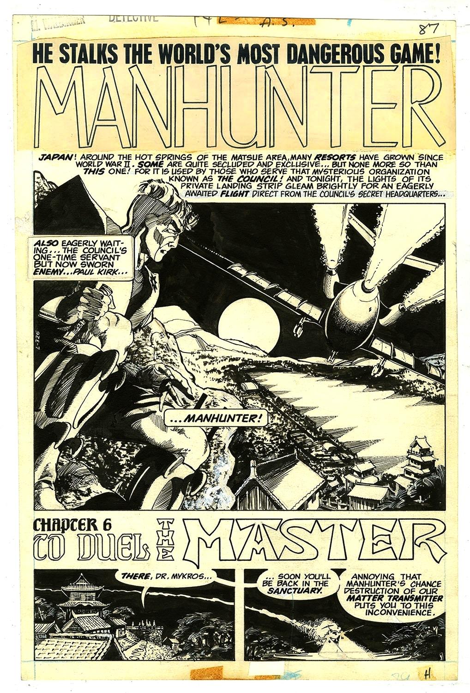 Walter Simonson's Manhunter review