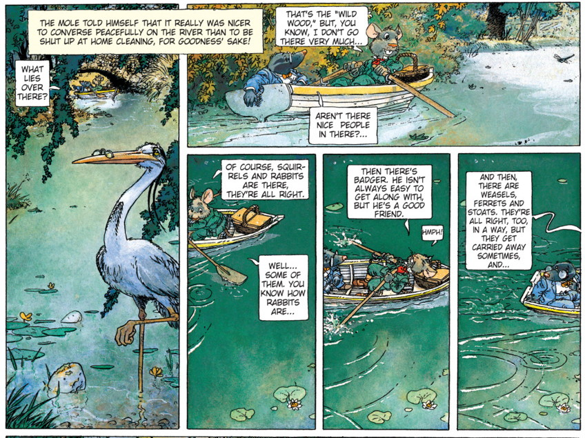 The Wind in the Willows graphic novel review