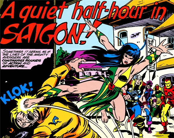 Avengers Celestial Madonna review