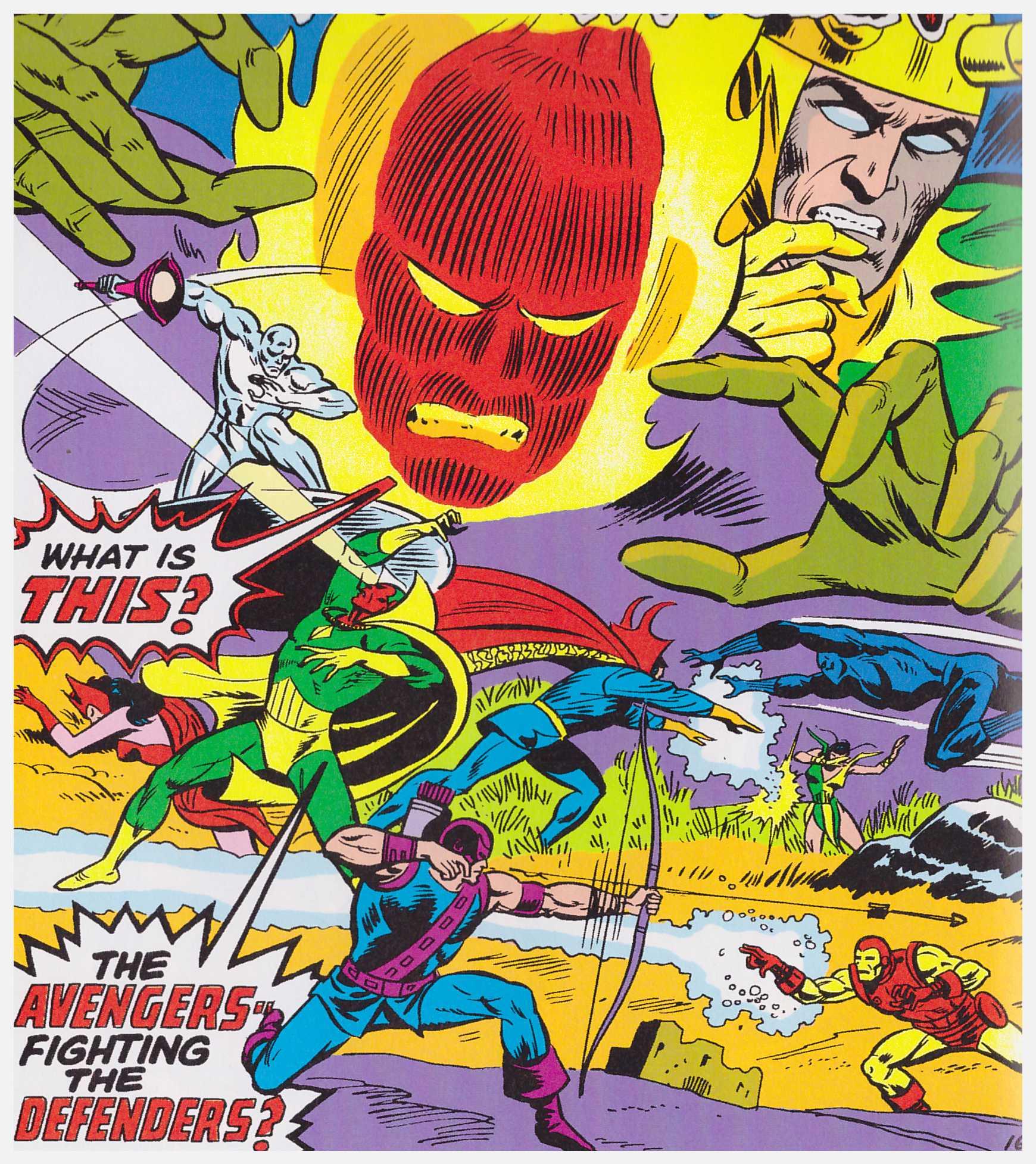 Avengers Defenders War review