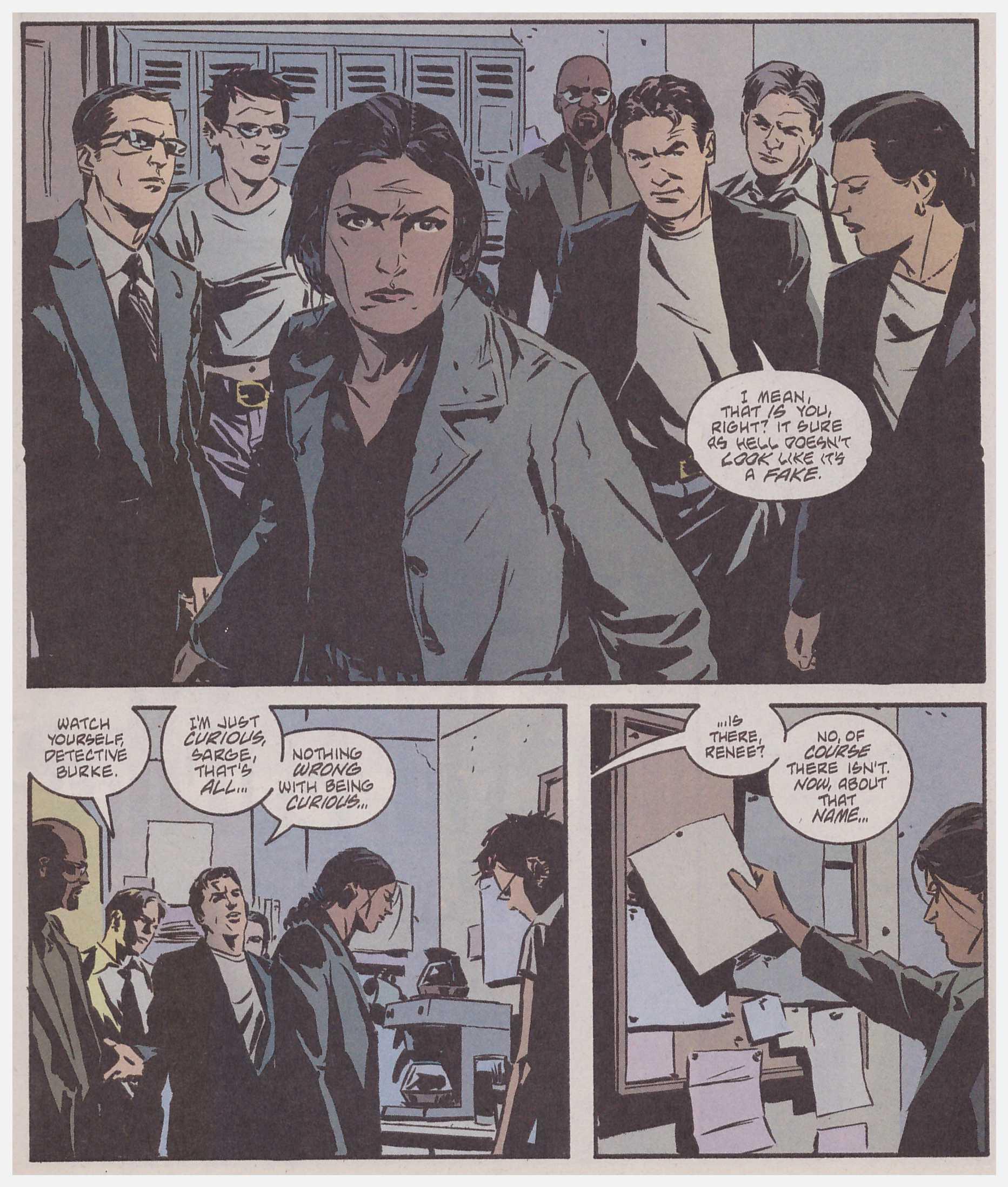 Gotham Central Half a Life review