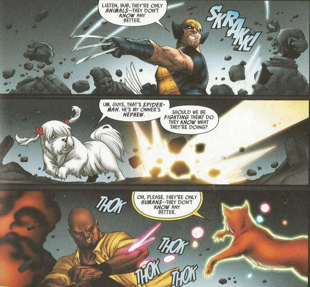 Avengers Vs Pet Avengers review
