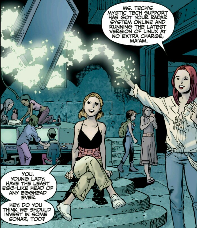Buffy the Vampire Slayer Season 8 Library Edition Vol 1 review