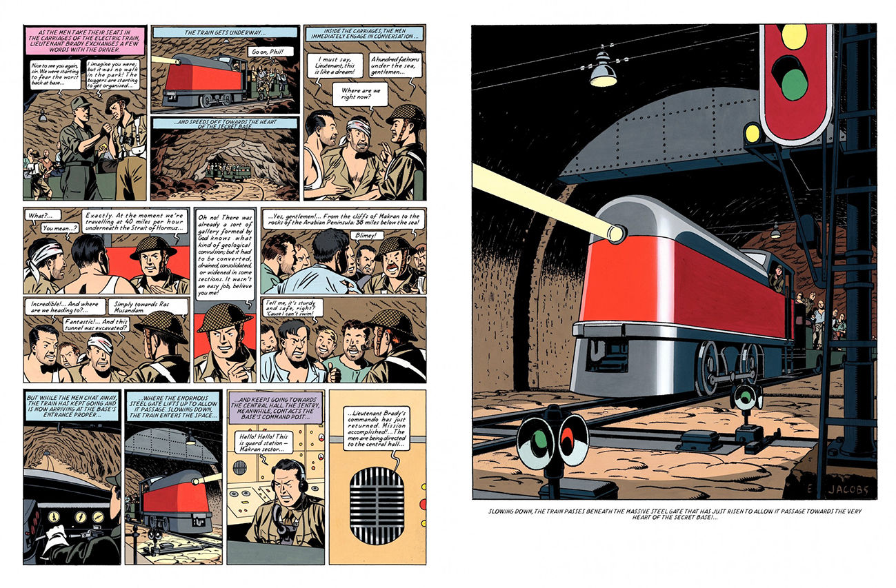 Blake and Mortimer The Secret of the Swordfish Pt 3 review