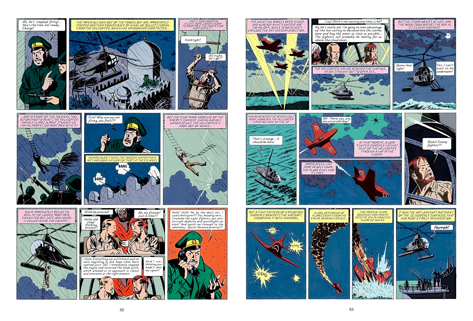 Blake and Mortimer The Secret of the Swordfish Pt 2 review
