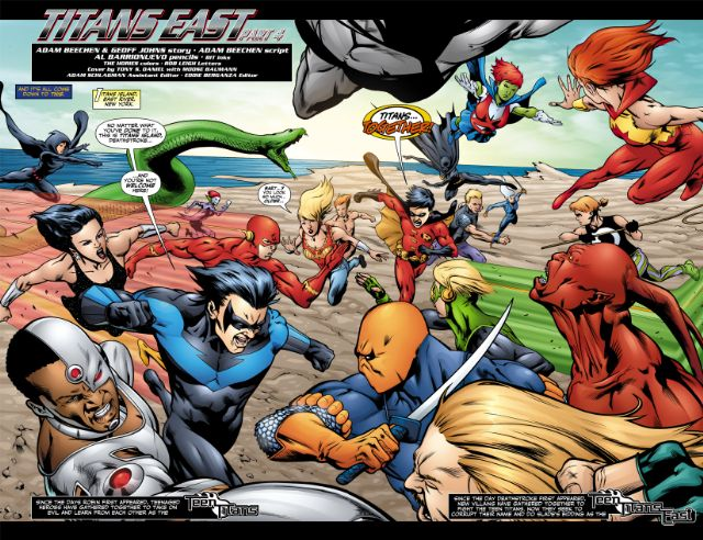 Teen Titans Titans East review