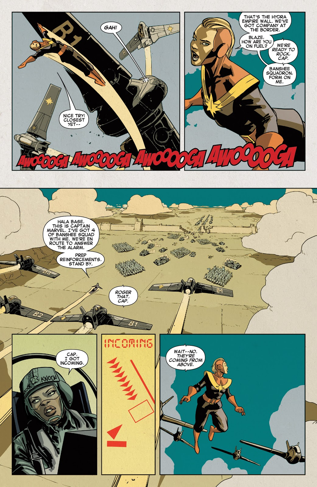 Warzones Captain Marvel and the Carol Corps review