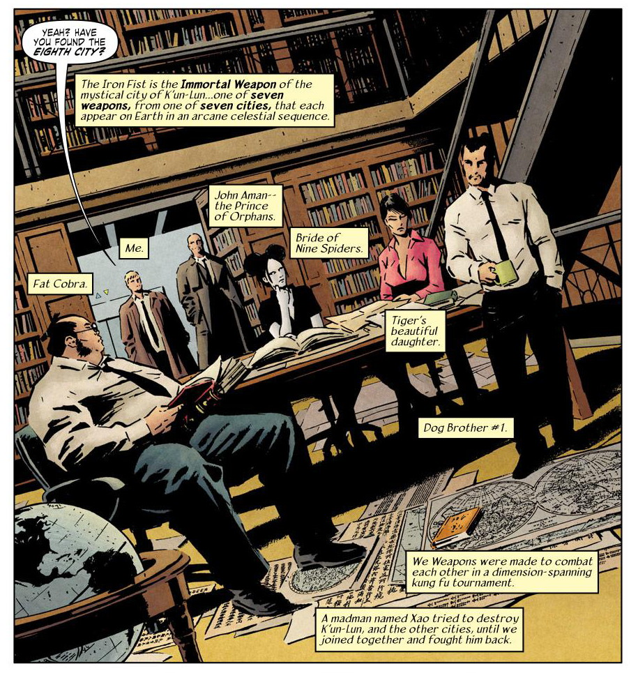 Immortal Iron Fist the Book of Iron Fist review
