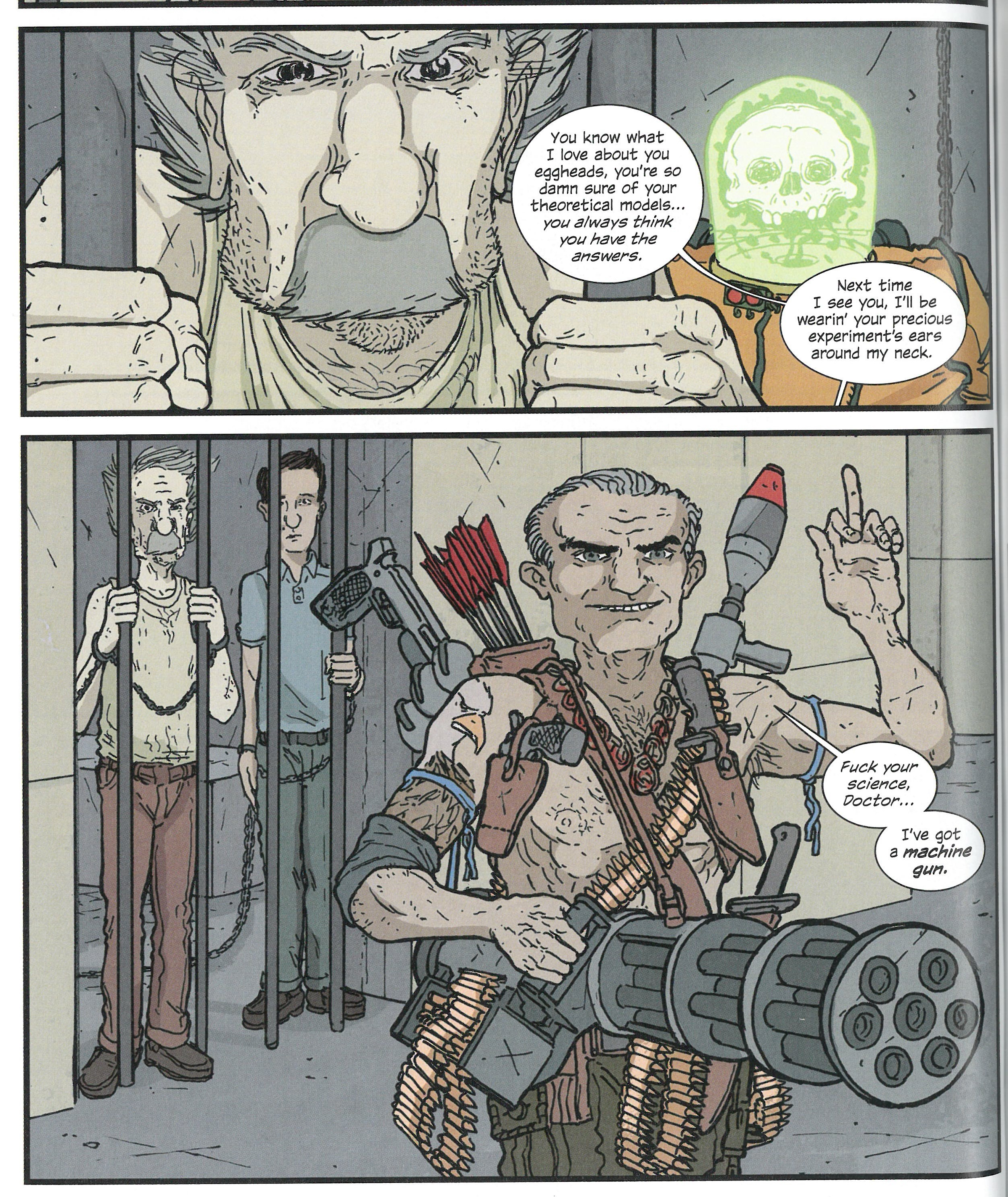 Manhattan Projects 4 review