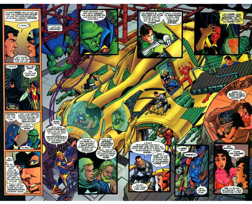 JLA/Avengers review