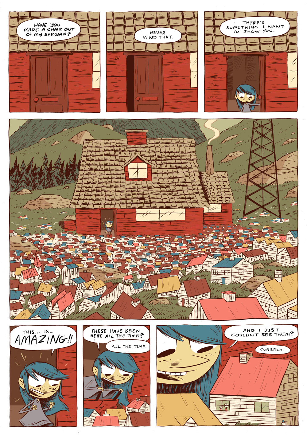 Hilda and the Midnight Giant review