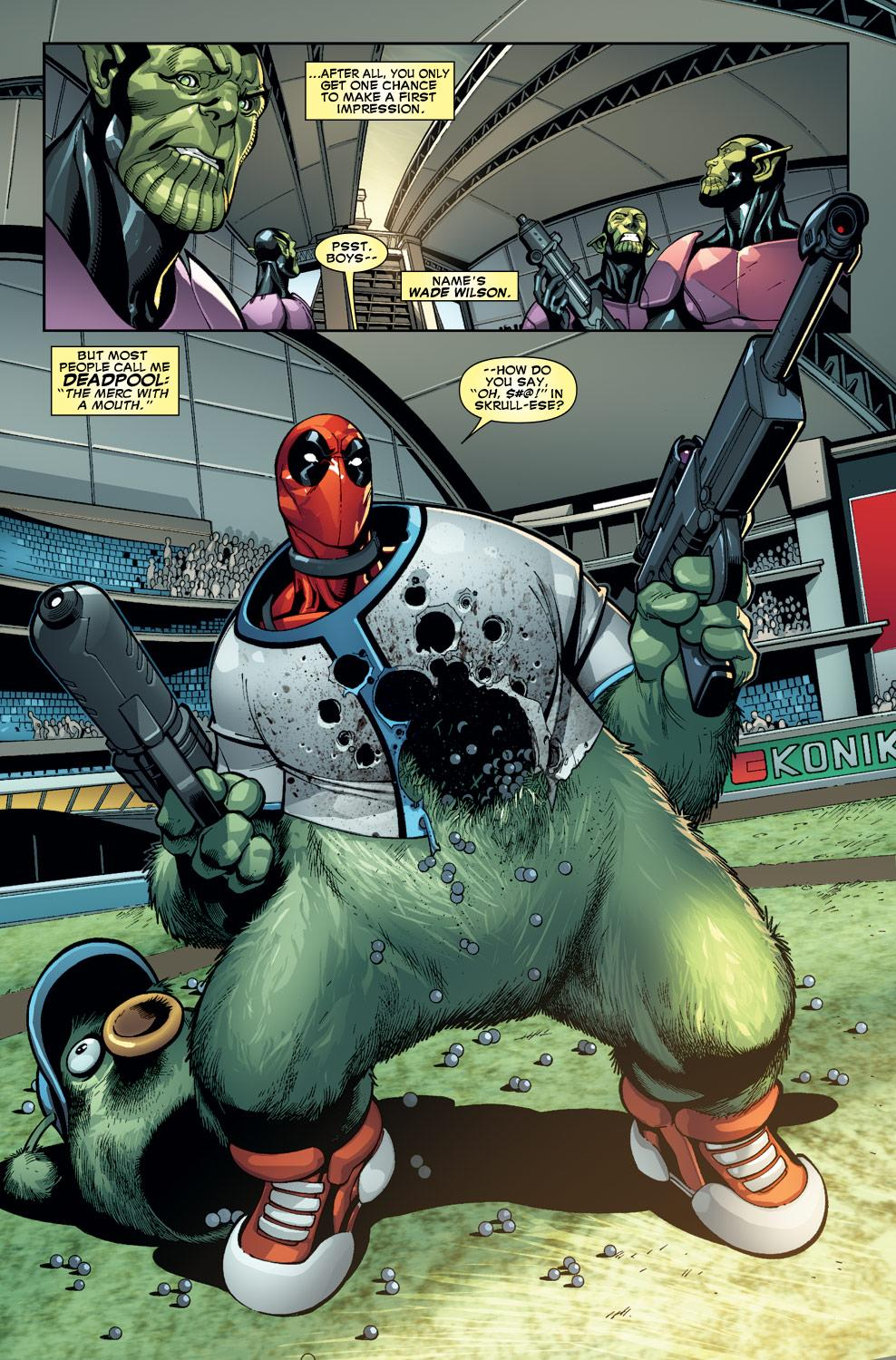 Deadpool Secret Invasion