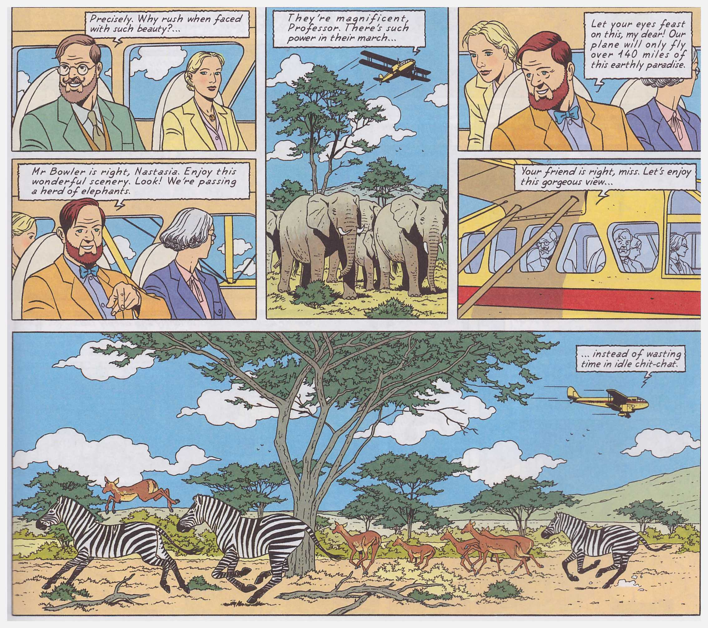 Blake and Mortimer The Gondwana Shrine review