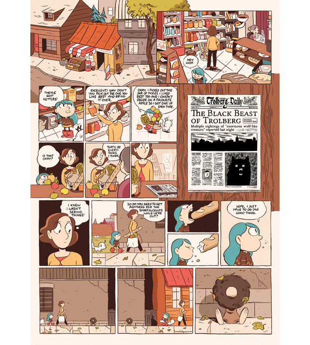 Hilda and the Black Hound review