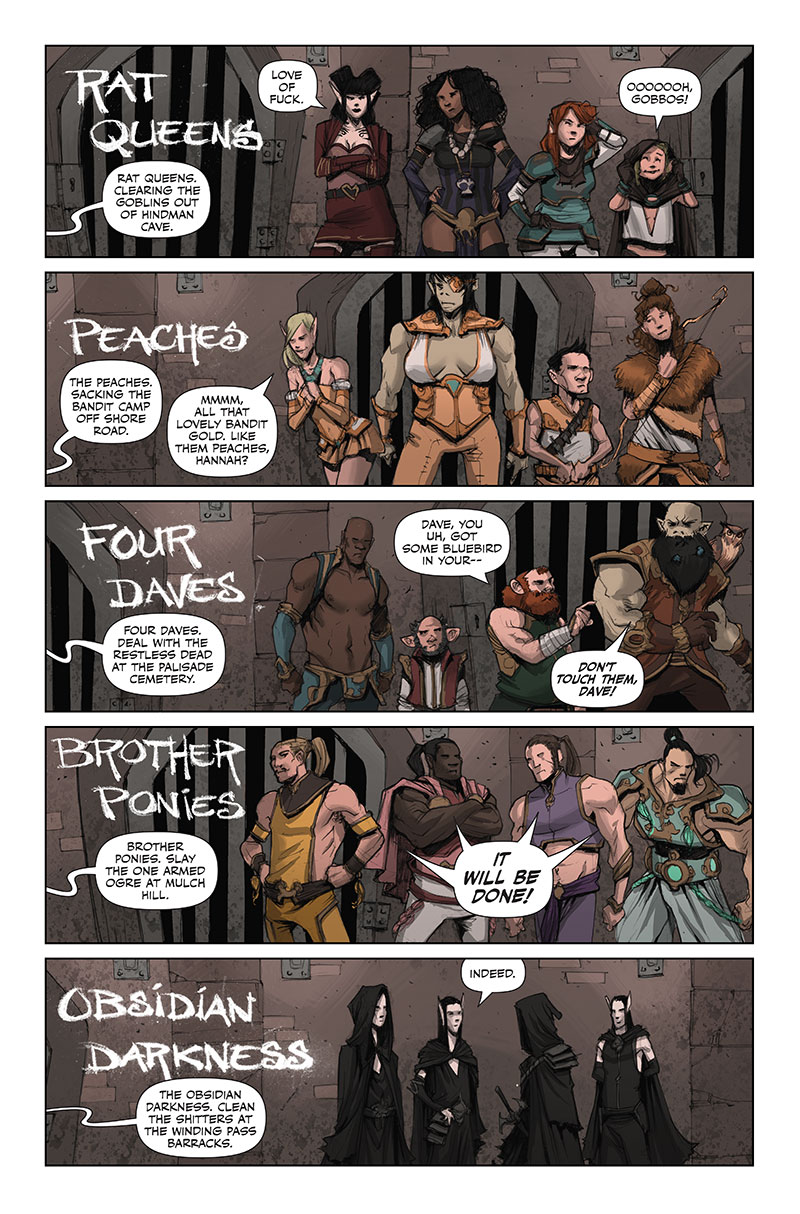 Rat Queens Sass and Sorcery review