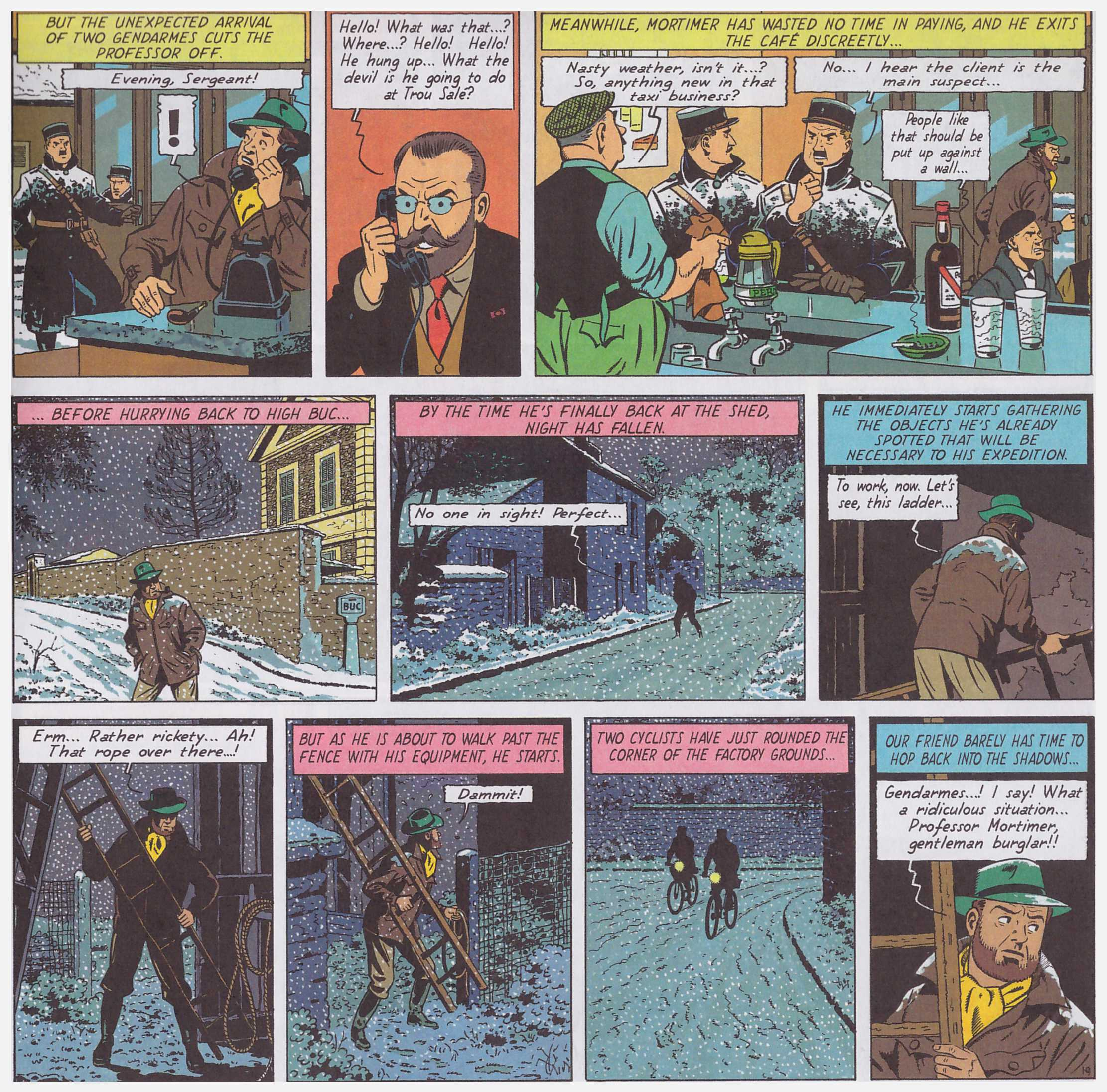 Blake and Mortimer S.O.S. Meteors review
