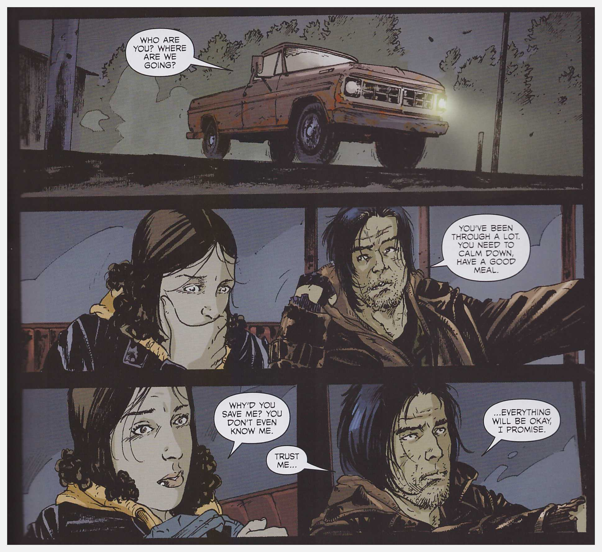 The Returning graphic novel review