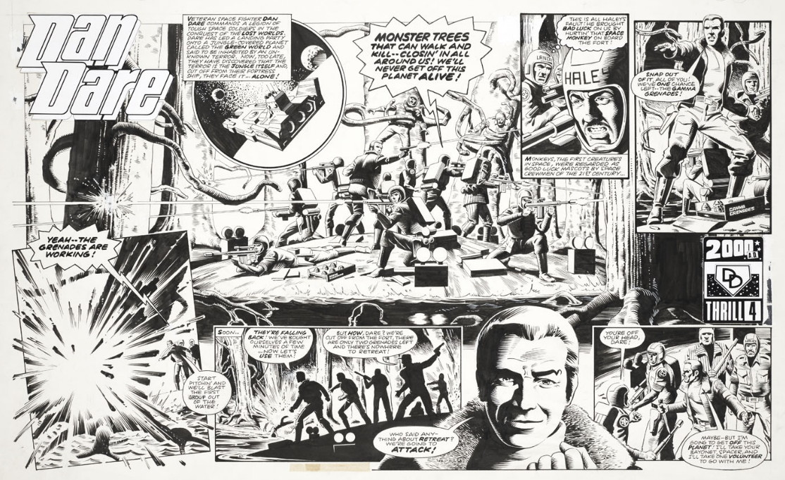 Dan Dare the 2000AD Years review