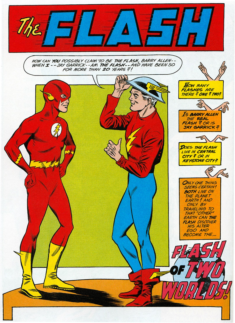 The Flash of Two Worlds review