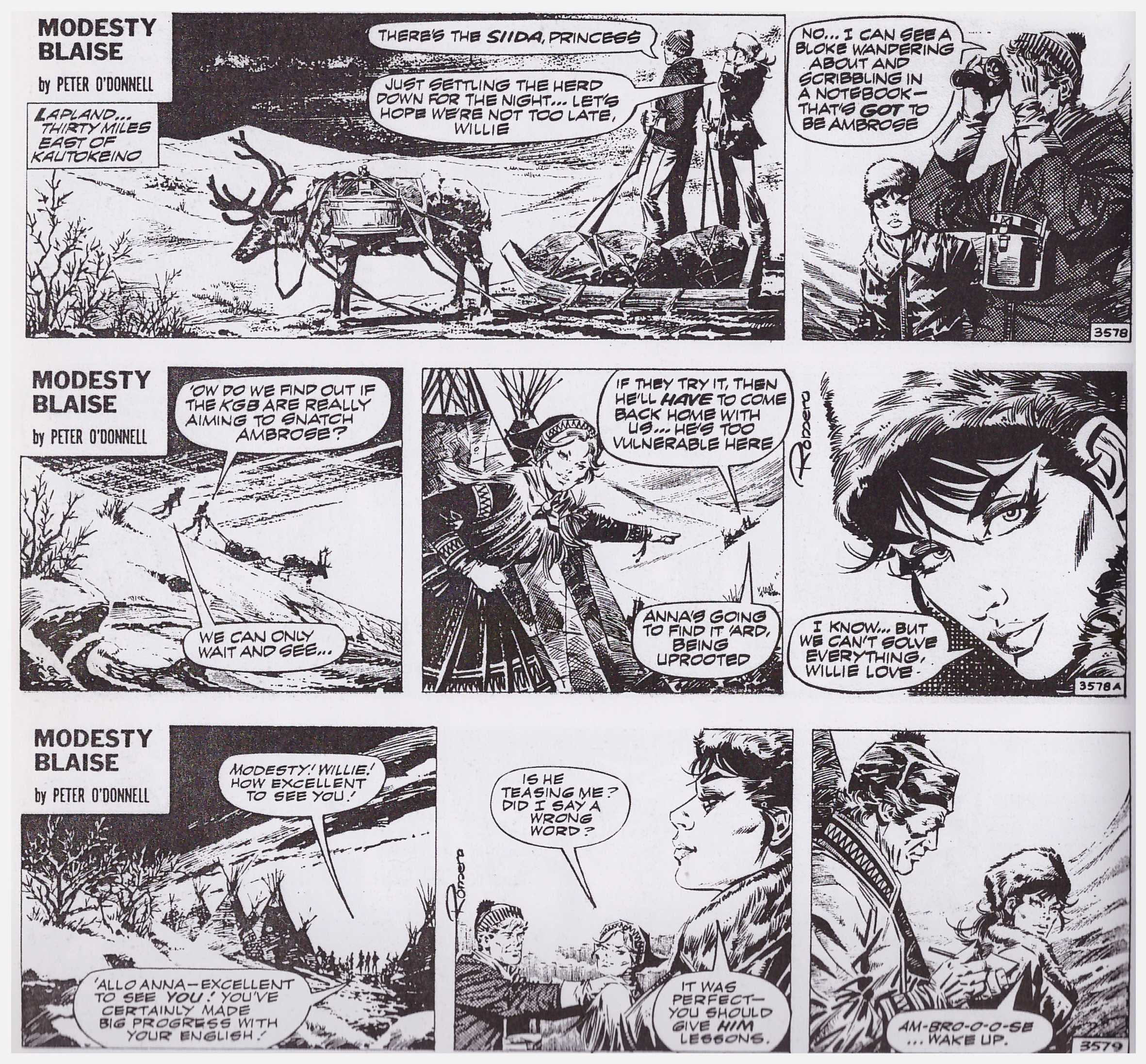 Modesty Blaise Cry Wolf review