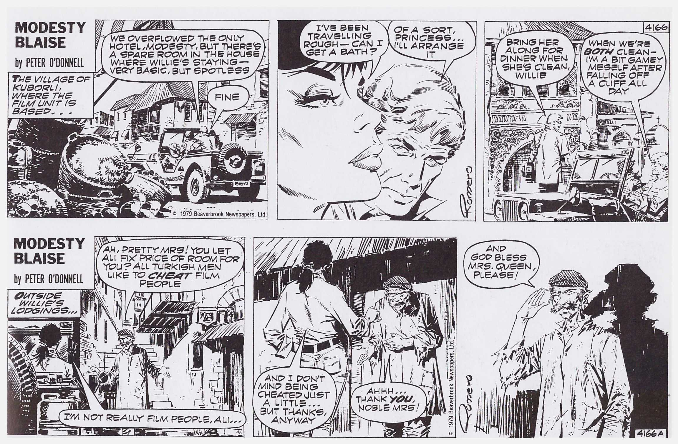 Modesty Blaise Death Trap review