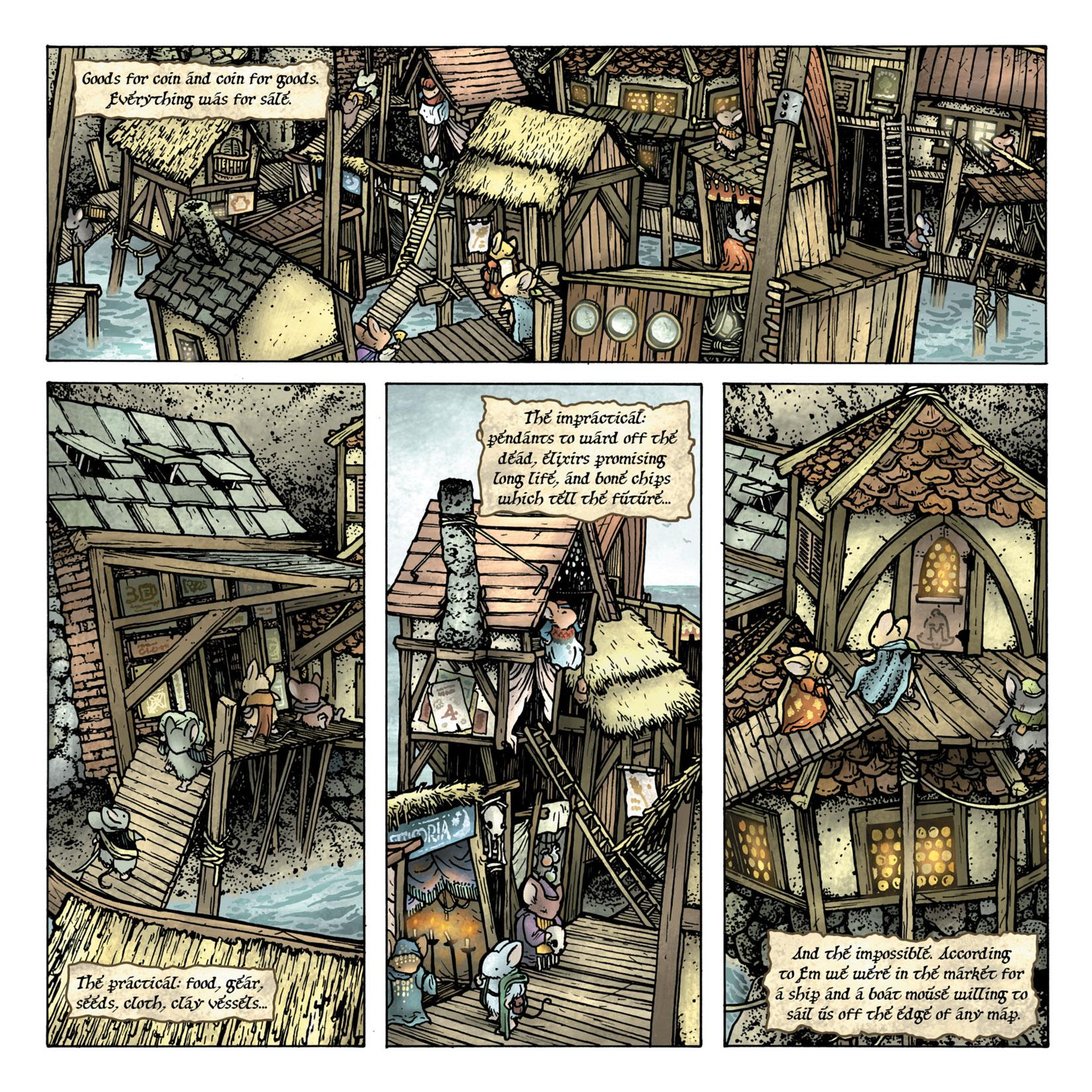 Mouse Guard The Black Axe review