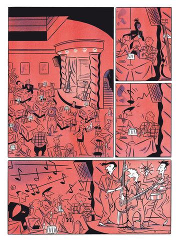 Paris Soirees graphic novel review