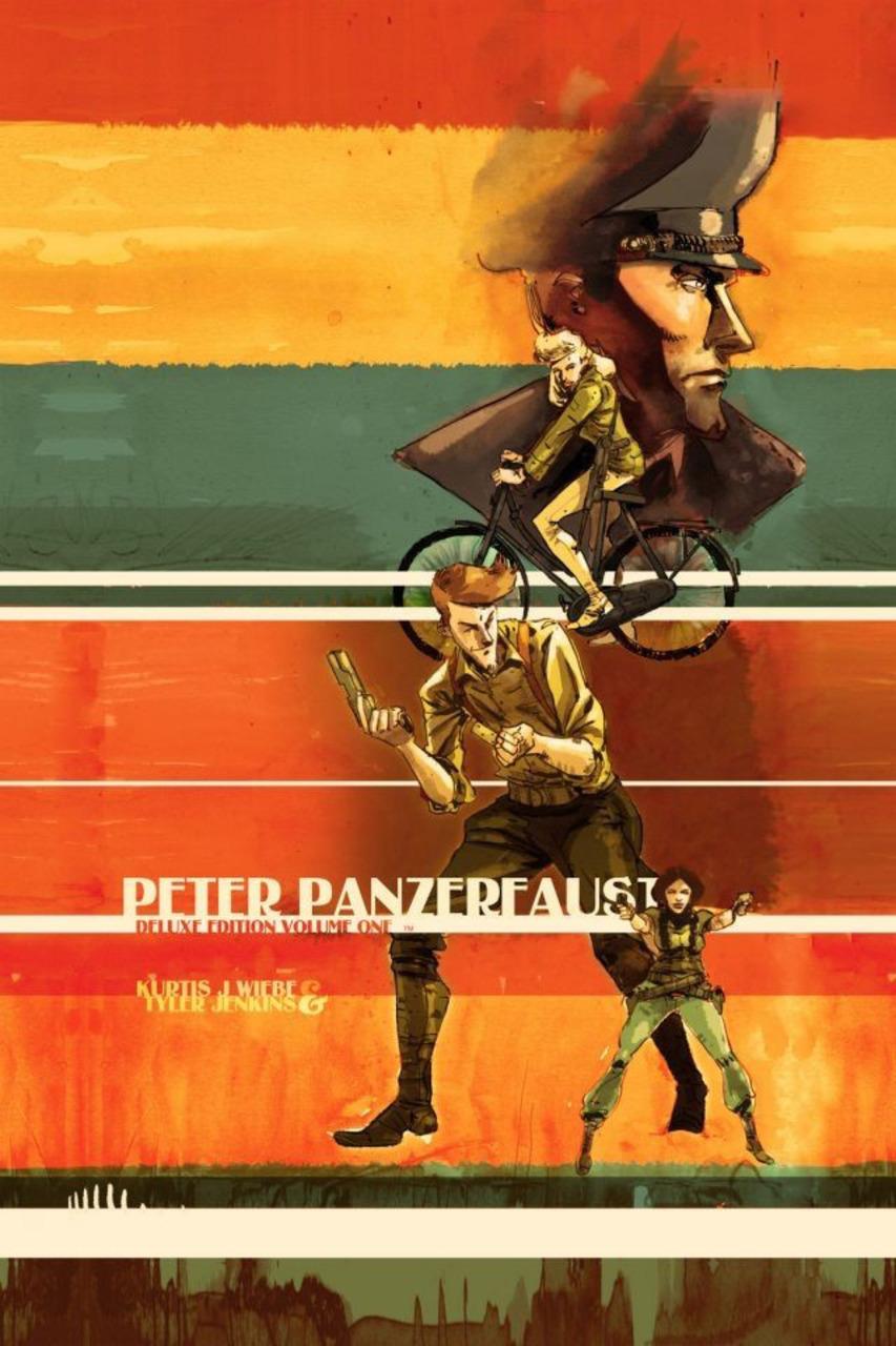 Wiebe The Hunt Image PETER PANZERFAUST Volume 4 TPB
