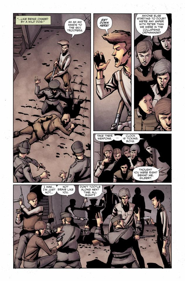 Peter Panzerfaust The Great Escape review