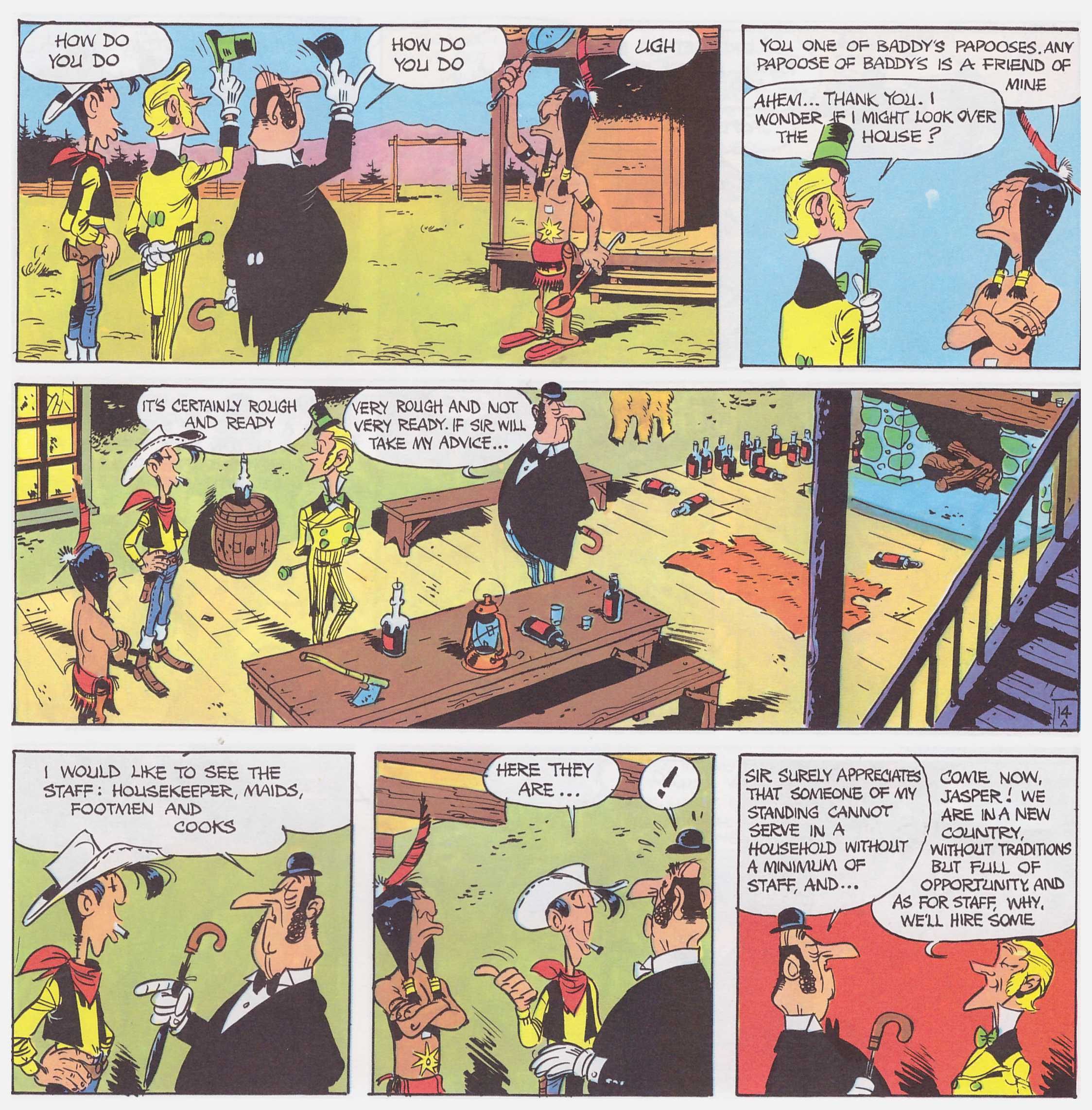 Lucky Luke The Tenderfoot review