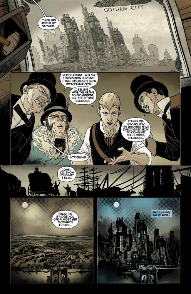 Batman Gates of Gotham review