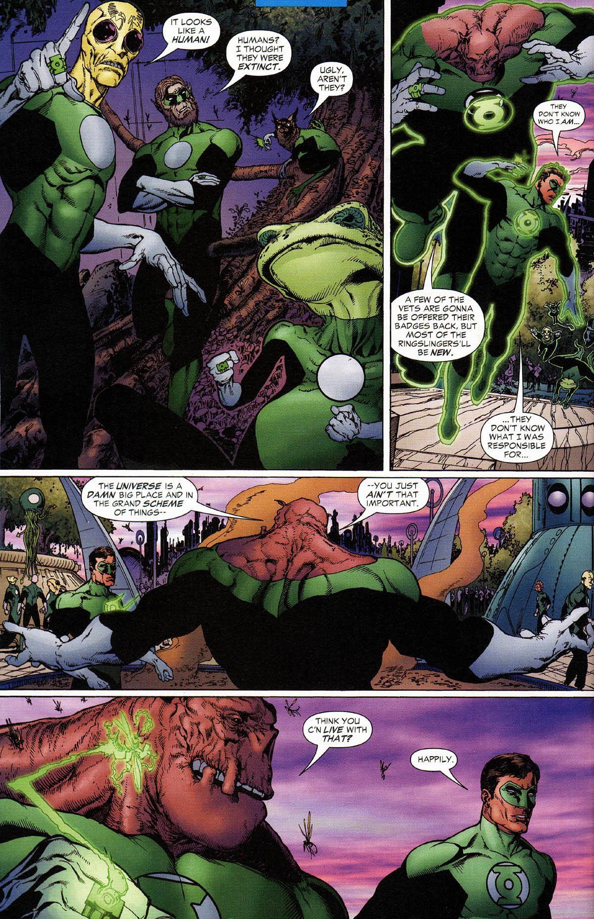 Green Lantern No Fear review
