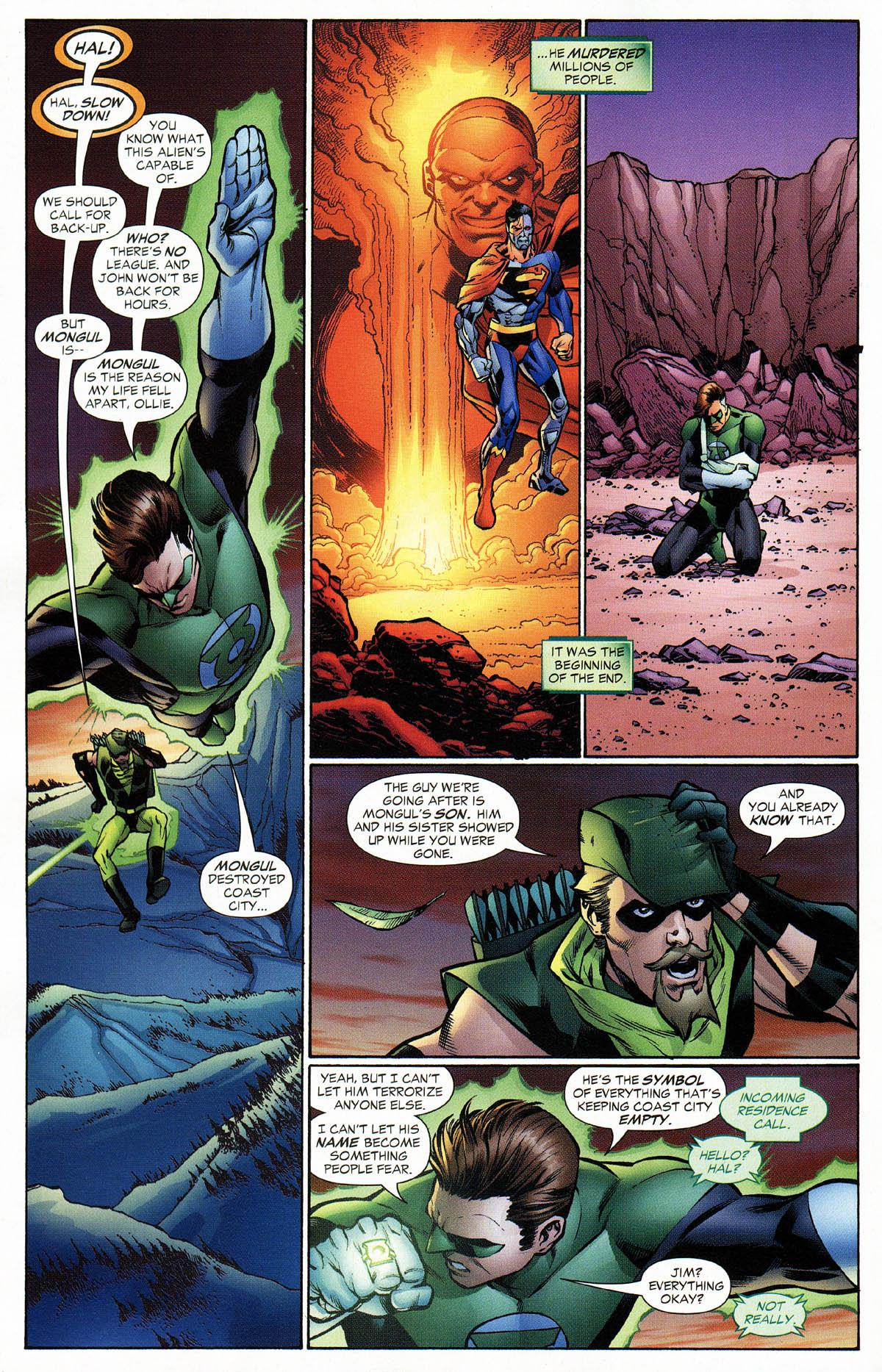 Green Lantern Revenge of the Green Lanterns review
